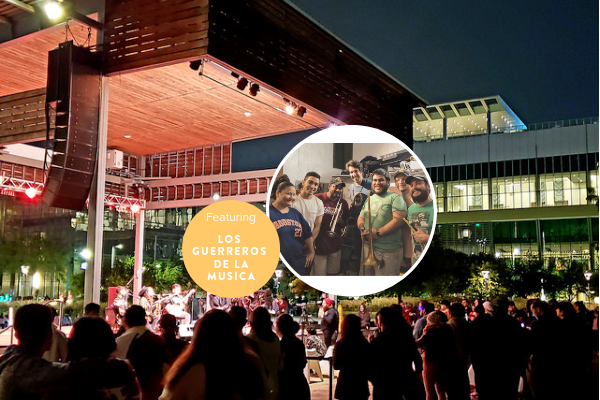 Unplugged at Discovery Green